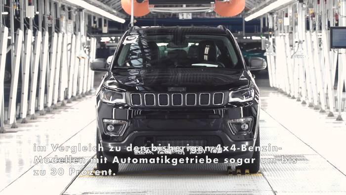 """Video: Jeep® Compass """"made in Europe"""" mit neuer Benzinmotoren-Generation"""