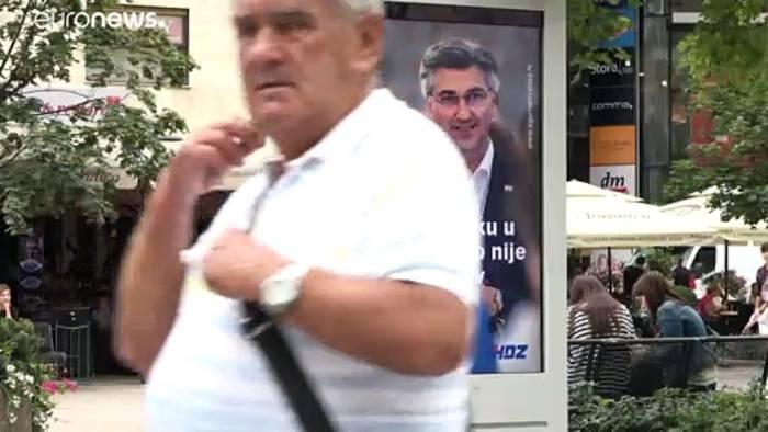 Video: Kroatien: Parlamentswahl im Schatten der Coronakrise