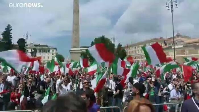 Video: Italienische Opposition fordert Neuwahlen