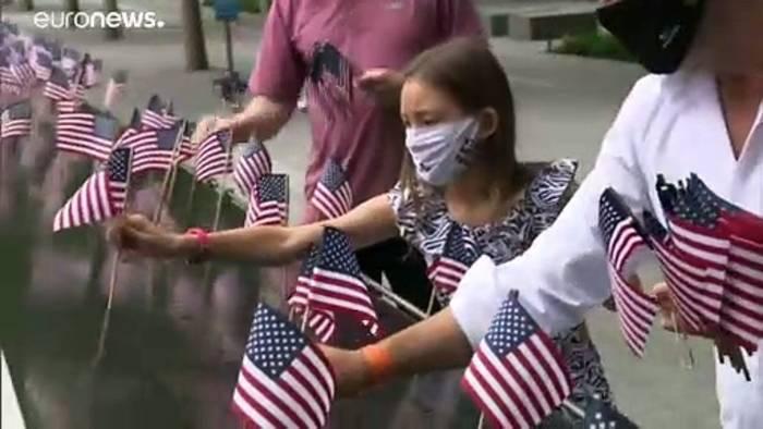 Video: Für Trump scheint der Nationalismus wichtiger zu sein als der Kampf gegen die Pandemie