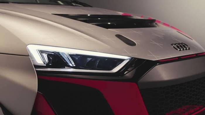 News video: Der Rennwagen - Audi R8 LMS GT4
