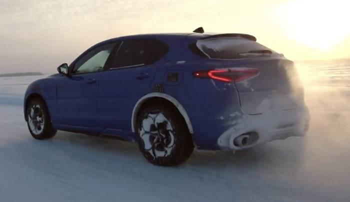News video: Nicht nur offroad - Alfa Romeo nutzt 4x4-Technologie für ultimativen Fahrspaß auf der Straße