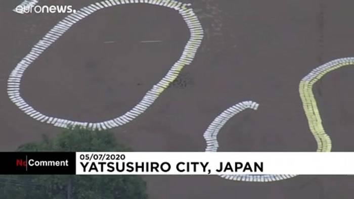 News video: Unwetter in Japan: 35 Tote, 200.000 Menschen auf der Flucht