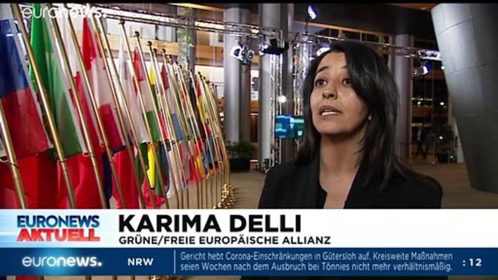 News video: Machtwort zur Maskenpflicht?  Euronews am Abend 06.07.