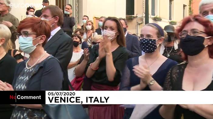 News video: Neustart am La Fenice in Venedig