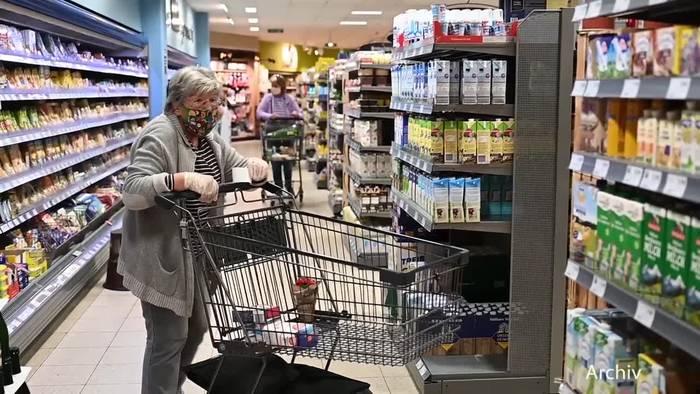 News video: Einkaufsbummel ohne Maskenpflicht?