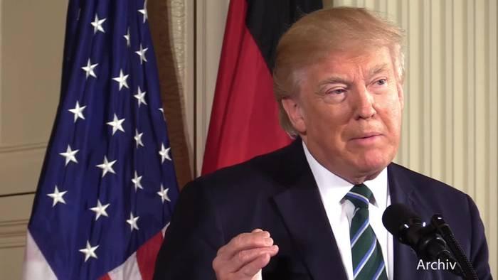 News video: Trotz Corona: Trump kündigt große Wahlkampfveranstaltung an