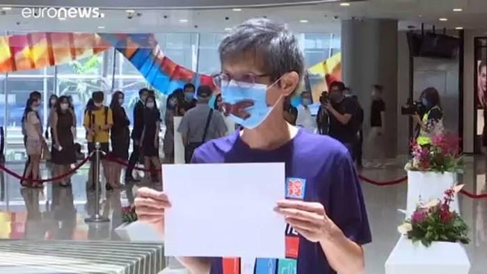 News video: Chinas Überwachungsgesetz: Hilferuf aus Hongkong
