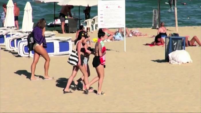 News video: Am Strand in Bulgarien: Kommen doch noch Touristen aus dem Ausland?