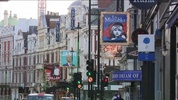 News video: Rettungspaket für britische Theater und Museen