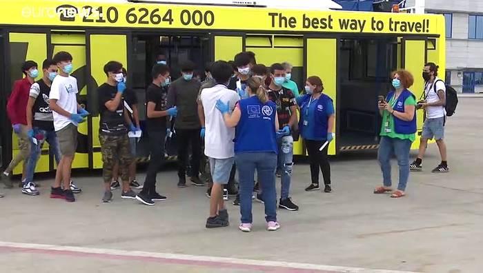 News video: Portugal nimmt minderjährige Migranten aus Griechenland auf