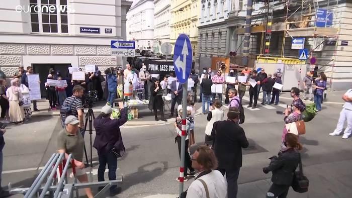 News video: Exil-Tschetschenen machen Putin für Mord in Wien verantwortlich