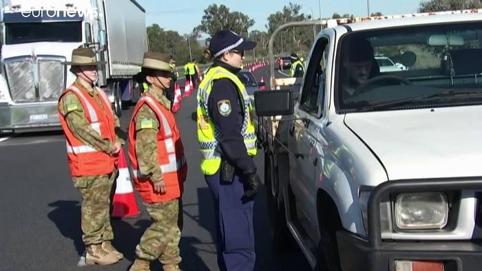 News video: Melbourne nach Corona-Anstieg wieder im Lockdown