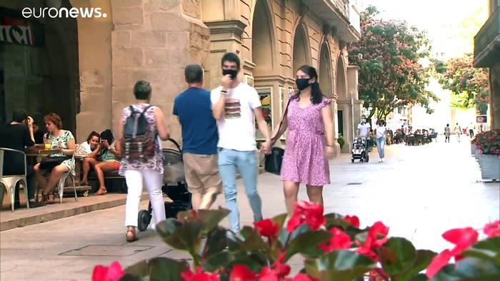 News video: Maske verpflichtend - drei spanische Regionen fahren Schutzmaßnahmen hoch