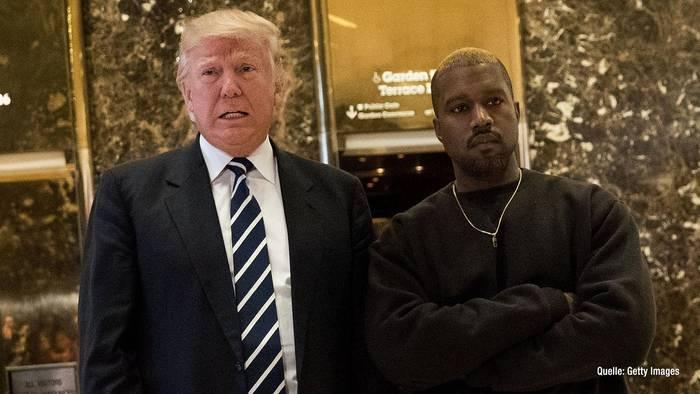 """News video: Donald Trump: Kandidatur von Kanye West ist """"sehr interessant"""""""