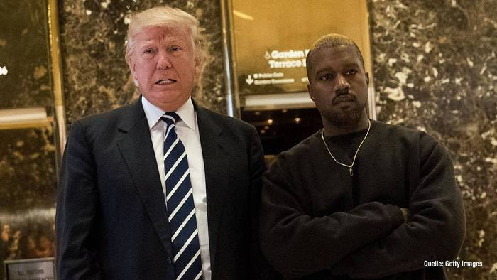 "Video: Donald Trump: Kandidatur von Kanye West ist ""sehr interessant"""