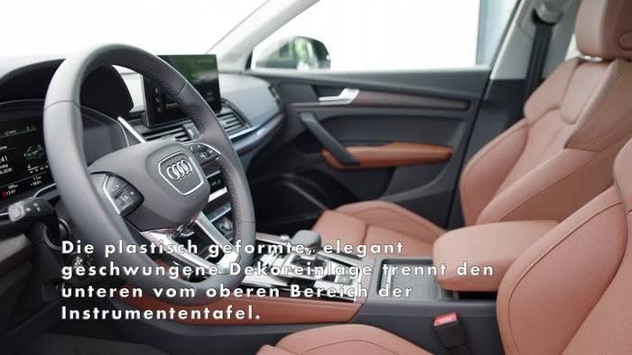 News video: Der Audi Q5 - Das Interieurdesign - optische Leichtigkeit und Top-Qualität