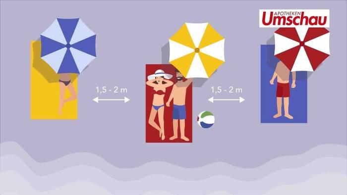 News video: Sommerurlaub trotz Corona: Diese Tipps und Hygieneregeln sollten Sie unbedingt beachten!