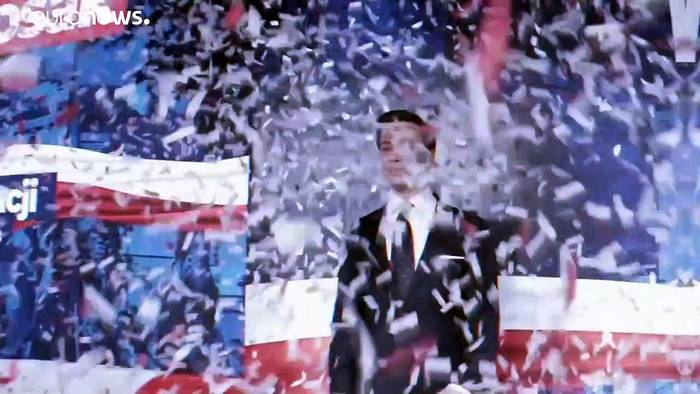 News video: Jetzt gilt's: Wer wird Polens Staatsoberhaupt?