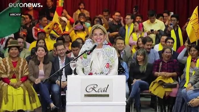 News video: Boliviens Präsidentin hat sich mit dem Coronavirus infiziert