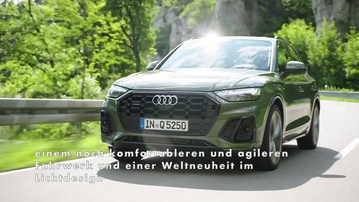 Video: Neuer Look für den Audi Q5