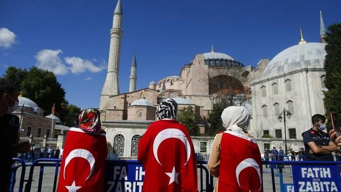 News video: Tag der Entscheidung für die Hagia Sophia - Euronews am Abend 10.07.