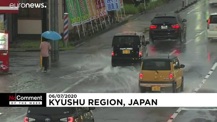 Video: Kyushu unter Wasser