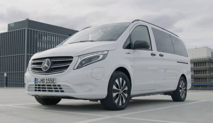 Video: Der neue Mercedes-Benz eVito Tourer - Das Design