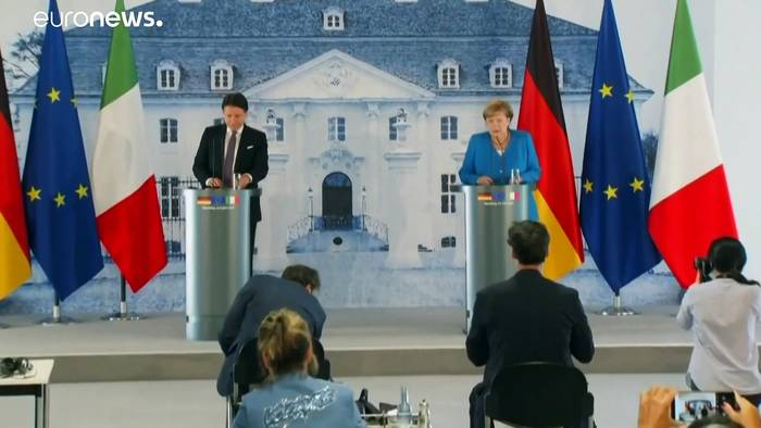 News video: Corona-Aufbaufonds der EU - Merkel: