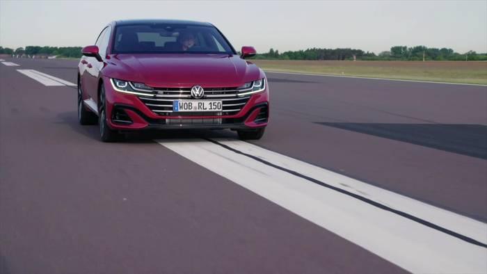 """Video: Der neue Volkswagen Arteon - Neue Assistenzsysteme - """"Travel Assist"""" – bis 210 kmh assistiert Fahren"""