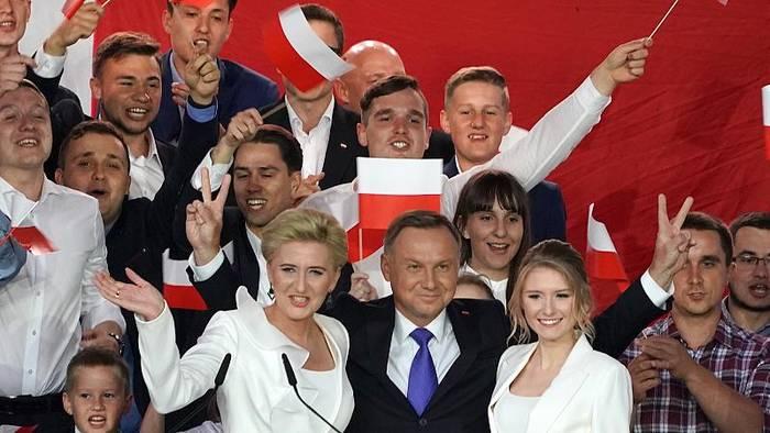 """News video: Andrzej Duda ist """"Staatsoberhaupt eines zunehmend gespaltenen Landes"""""""