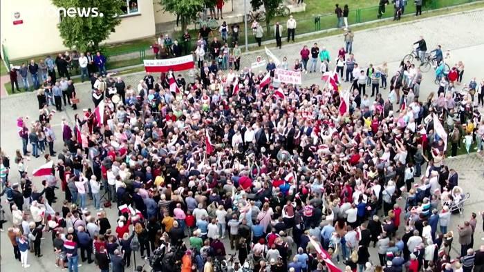 News video: Duda bleibt, die Demokratie geht?