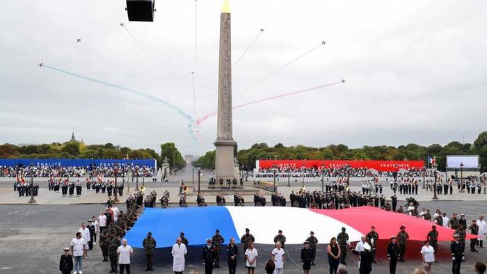 News video: Nationalfeiertag: Frankreich ehrt Corona-Helfer - Militärparade fällt aus
