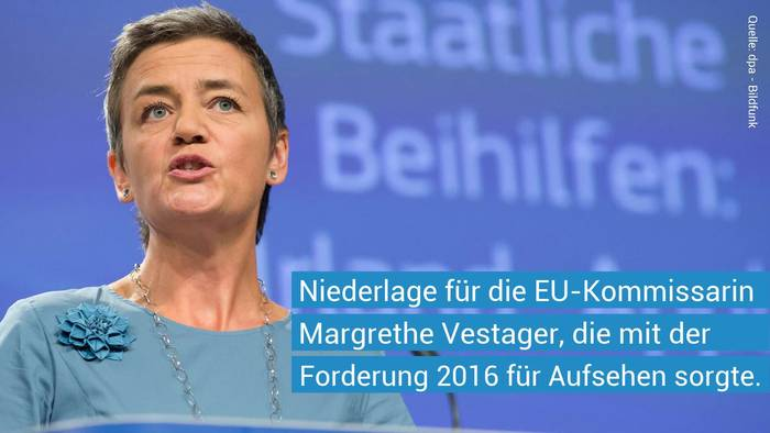 News video: EU verliert gegen Apple