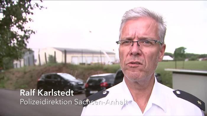 News video: 5000 Tiere bei Großbrand in Sachsen-Anhalt verendet