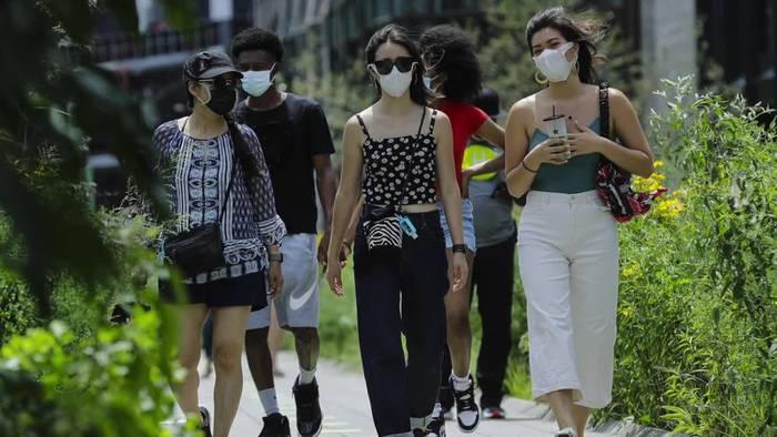 News video: USA verzeichnen Rekord an Neuinfektionen innerhalb eines