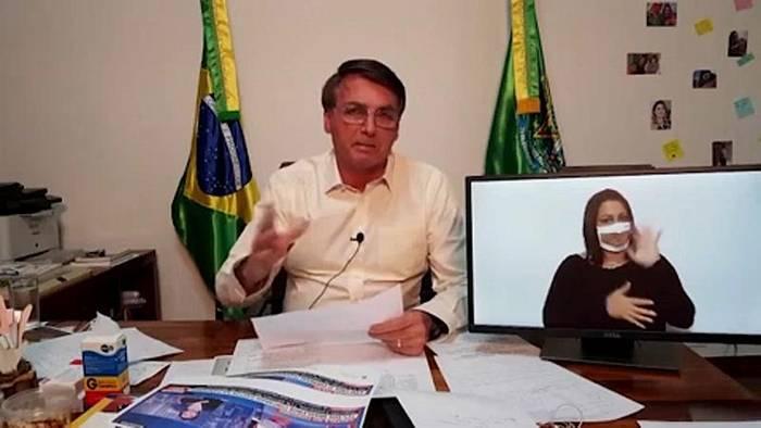 News video: Bolsonaro stoppt kurzweitig die Brandrodung und nennt Europa eine Umwelt-Sekte