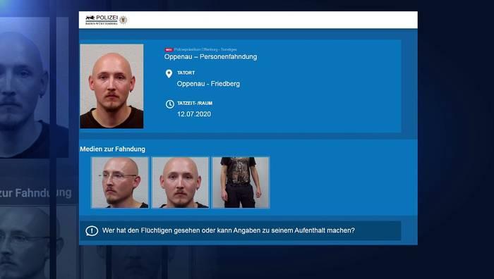 News video: Mit Beil und Waffen: 31-Jähriger im Schwarzwald gefasst