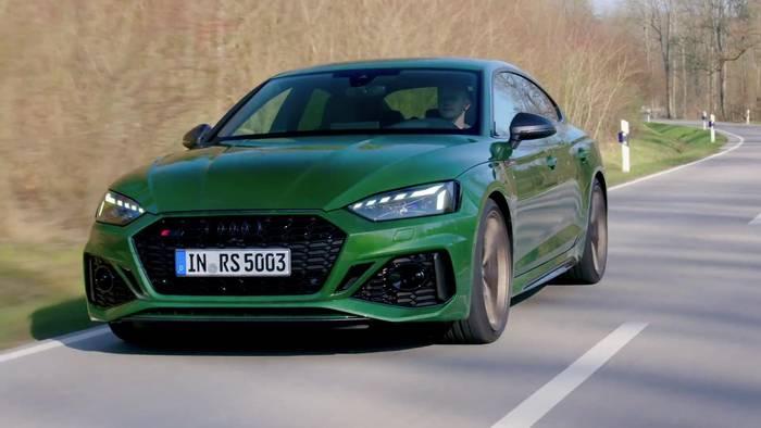 News video: Der Audi RS 5 Sportback - Sportlich abgestimmt - das Fahrwerk