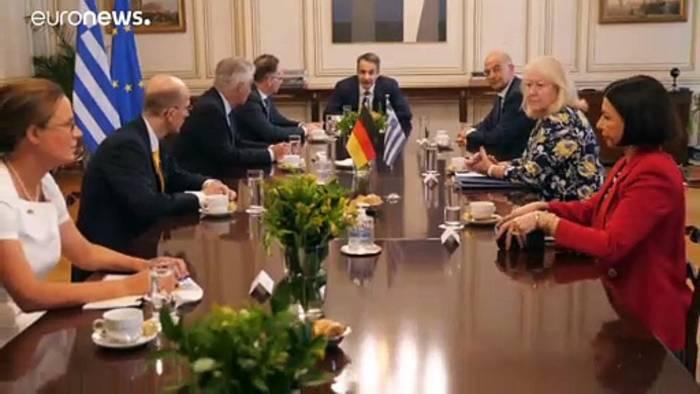 News video: Heiko Maas fordert ein Ende türkischer Provokationen im Mittelmeer