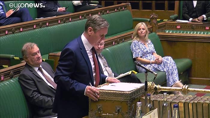 """Video: Boris Johnson zu Geheimdienst-Bericht: Nein, der Kreml steckt nicht hinter dem """"Brexit"""""""