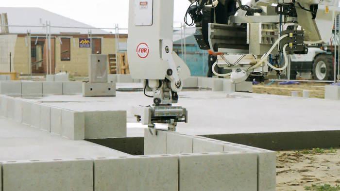 News video: Dieser Roboter kann Häuser bauen