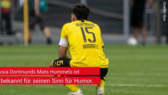 """News video: Mats Hummels: Peinliches Foto zeigt """"persönlichen Abgrund"""