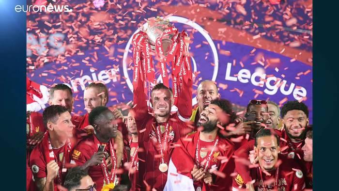 News video: FC Liverpool: Anhänger pfeifen auf das Feierverbot