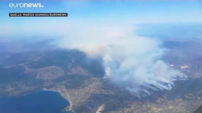 News video: Die Peloponnes brennt: Keine Entwarnung in Sicht