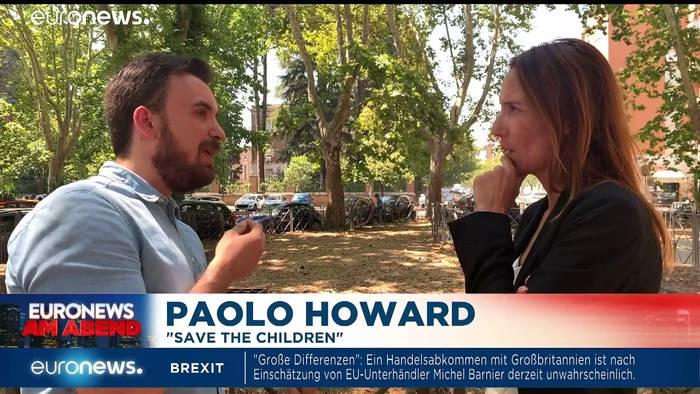 News video: Mauer der Mütter und entscheidende Urteile - Euronews am Abend 23.07.