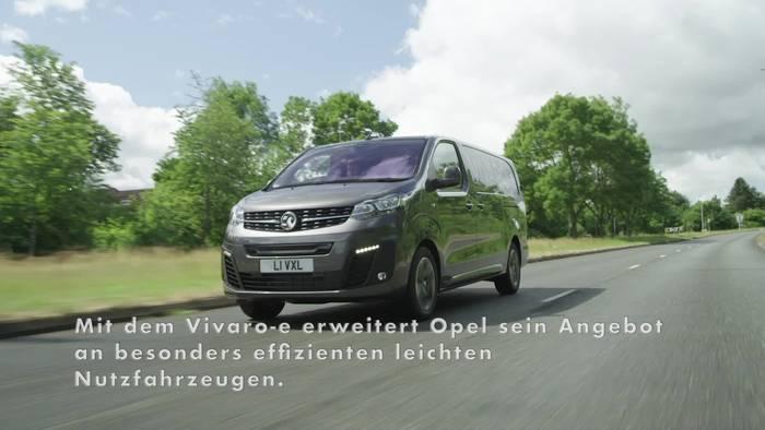 Video: Opel Vivaro-e startet 2020 - Erfolgreicher Transporter wird elektrisch