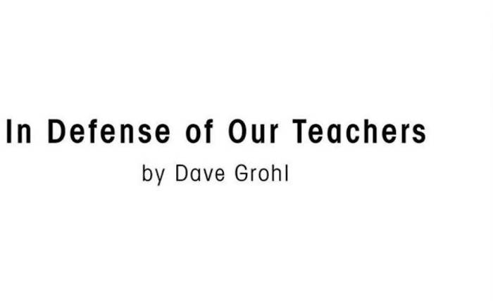 News video: Dave Grohl verteidigt Lehrer gegen Trump:
