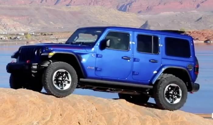 News video: Der neue Jeep® Wrangler in Kürtze