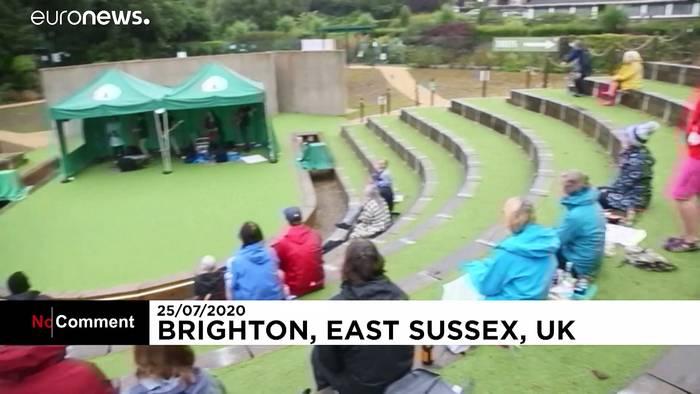 News video: Freilufttheater in Brighton empfängt wieder Gäste
